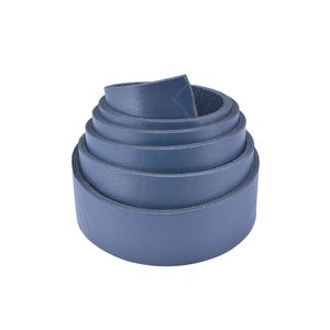 Belt blank BBF-1 40mm (Deep Blue, Finished)
