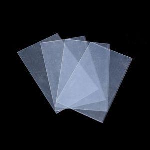Plastic clear sheet (65 x 110 mm)