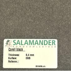 Кожкартон Salamander 0,8мм (33х74см, чёрн.)