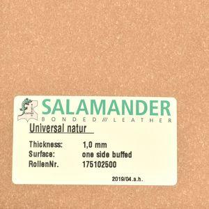 Bonded leather 0.8mm (33x74cm, Natur)