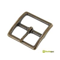 Bag buckle BG-1097 32mm (Antique brass)