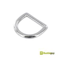 Полукольцо литое BG-012 19мм (нерж, никель)