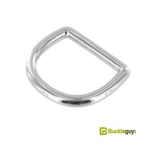 Полукольцо литое BG-016 25мм (нерж, никель)