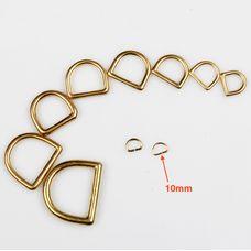 D-ring Wuta 10 mm (Brass)