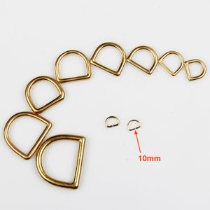 D-ring Wuta 10mm (Brass)