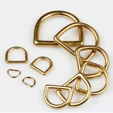 D-ring Wuta 13 mm (Solid Brass)