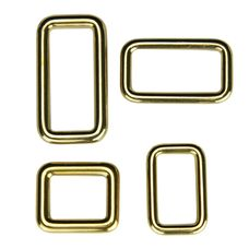 Square loop Wuta 26 mm (Solid Brass)