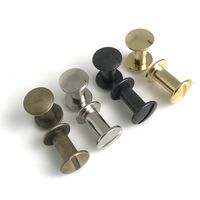 Chicago Screw 10mm (rounded)