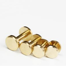 Chicago Screw Brass 5mm (flat)