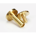 Chicago Screw Brass 12mm (flat)