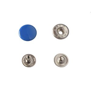 Hato Snap button #54 12.5mm (S-spring, Blue)