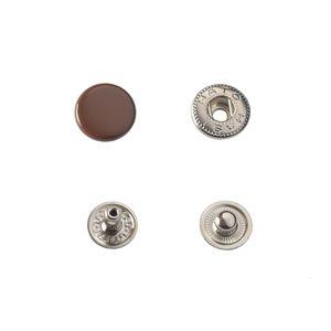 Кнопка Hato Альфа №54 12,5мм (коричневая)