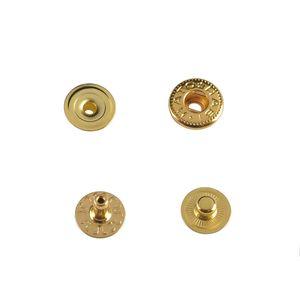 Hato Snap button #54 10mm (S-spring, Gold, Hidden)