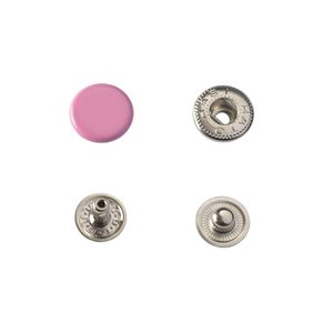 Hato Snap button #54 12.5mm (S-spring, Pink)