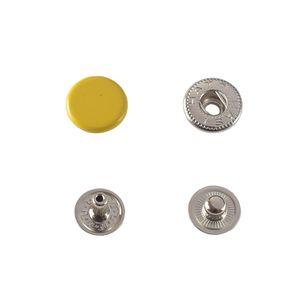 Кнопка Hato Альфа №54 12,5мм (желтая)