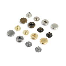 Кнопка Альфа №54 15 мм (нерж)