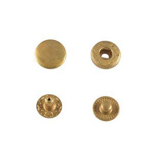 Кнопка Wuta Альфа №54 15мм (латунь, нерж)
