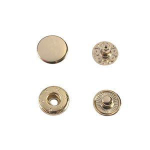 Кнопка Wuta Альфа №54 15мм (золото, нерж)