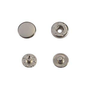 Кнопка Wuta Альфа №54 15мм (никель, нерж)
