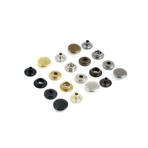 Кнопка кольцевая №61 12,5мм (50шт, нерж)