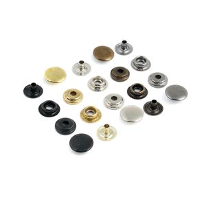 Кнопка кольцевая №61 15 мм (сталь)