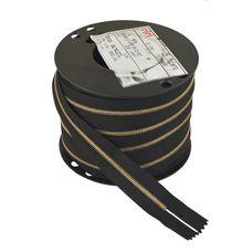 Zipper Riri ME4 2110 (Gold, Black)