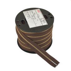 Zipper Riri ME4 2224 (Gold, Brown)