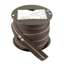 Zipper Riri ME4 2226 (Nickel, Dark Brown)
