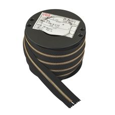 Zipper Riri ME6 2110 (Gold, Black)