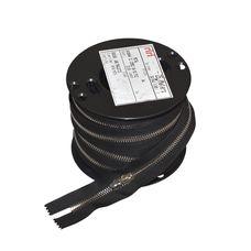 Zipper Riri ME6 2110 (Nickel, Black)