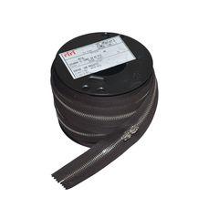 Zipper Riri ME6 2226 (Nickel, Dark Brown)