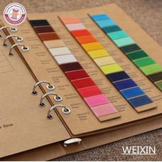 Threads colorchart Nanmei Braid (Polyester)