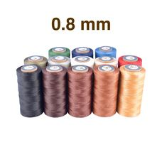 Threads Galaces 0.8 mm Big spool (Braided, Flat)