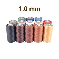 Threads Galaces 1.0 mm Big spool (Braided, Flat)