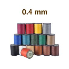 Threads Galaces 0.4 mm (Polyester)