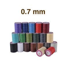 Threads Galaces 0.7 mm (Polyester)