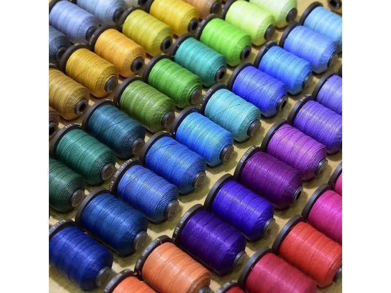 Meisi Waxed Linen Thread Khaki Colour for Leather Craft