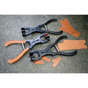 Leather craft pliers
