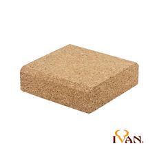 Cork block 10x10cm