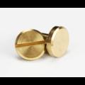 Винт ременной латунный 20 мм (плоский)